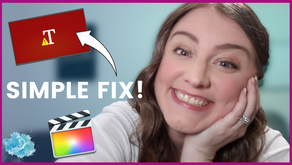 Simple fix for Final Cut Pro X Plugin Error | How to get rid of the Red Error like Magic!