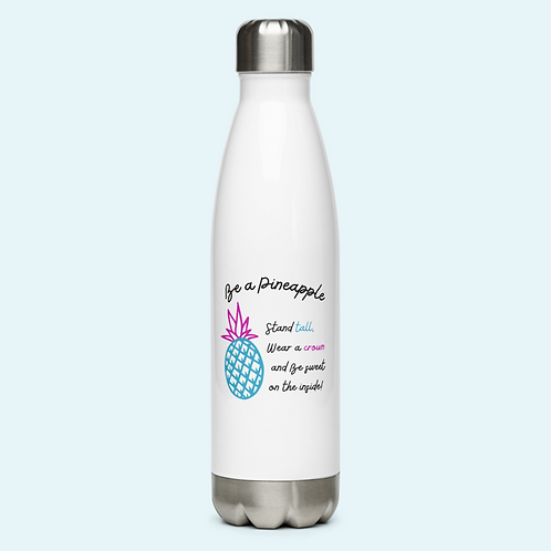 Stainless Steel Water Bottle Pineapple