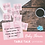 Thumbnail: Pink BABY SHOWER Table Talk conversation starter cards/ice breakers Printable