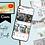 Thumbnail: YouTube CANVA template bundle 5 varieties + 5 bonus templates!