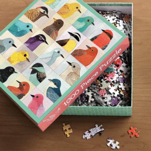 Bird Puzzle, 1000 pieces