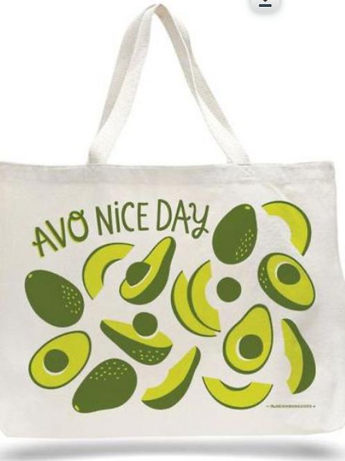 Avo Nice Day, 100% Cotton Bag
