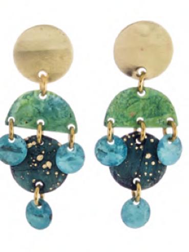 Sibilia Earrings, Gypsy Queen