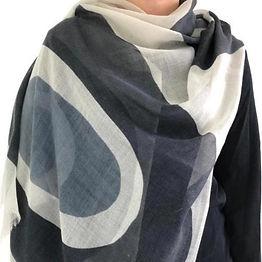 See-Design-Wool-Scarf---Black-Grey-Doubl