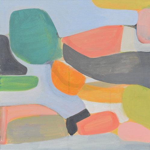 "Painting, Ascending, 24""x24"""