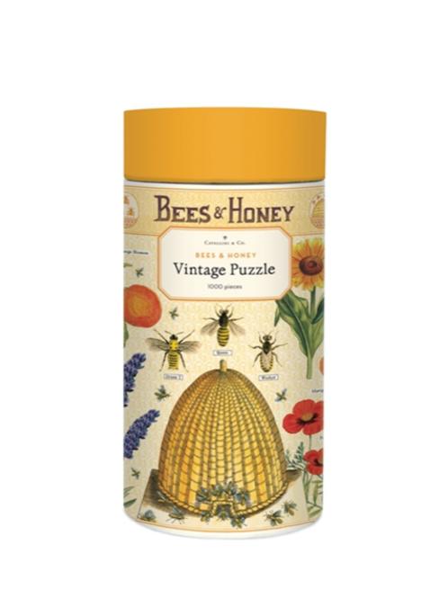 Vintage Bees & Honey Puzzle, 1000 pieces
