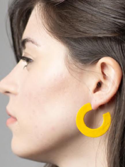 Sibilia Earrings, Essential Hoop
