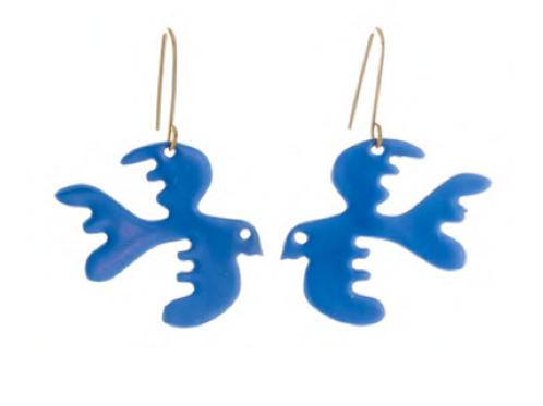 Sibilia Earrings, Free as a Bird