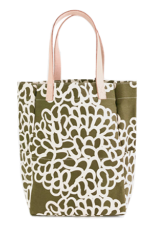 City Tote, clouds moss