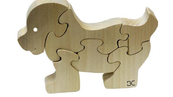 K&N Sevimli Köpek ahşap yap-boz