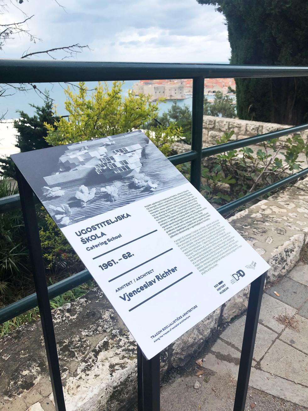 instalacija turistička škola