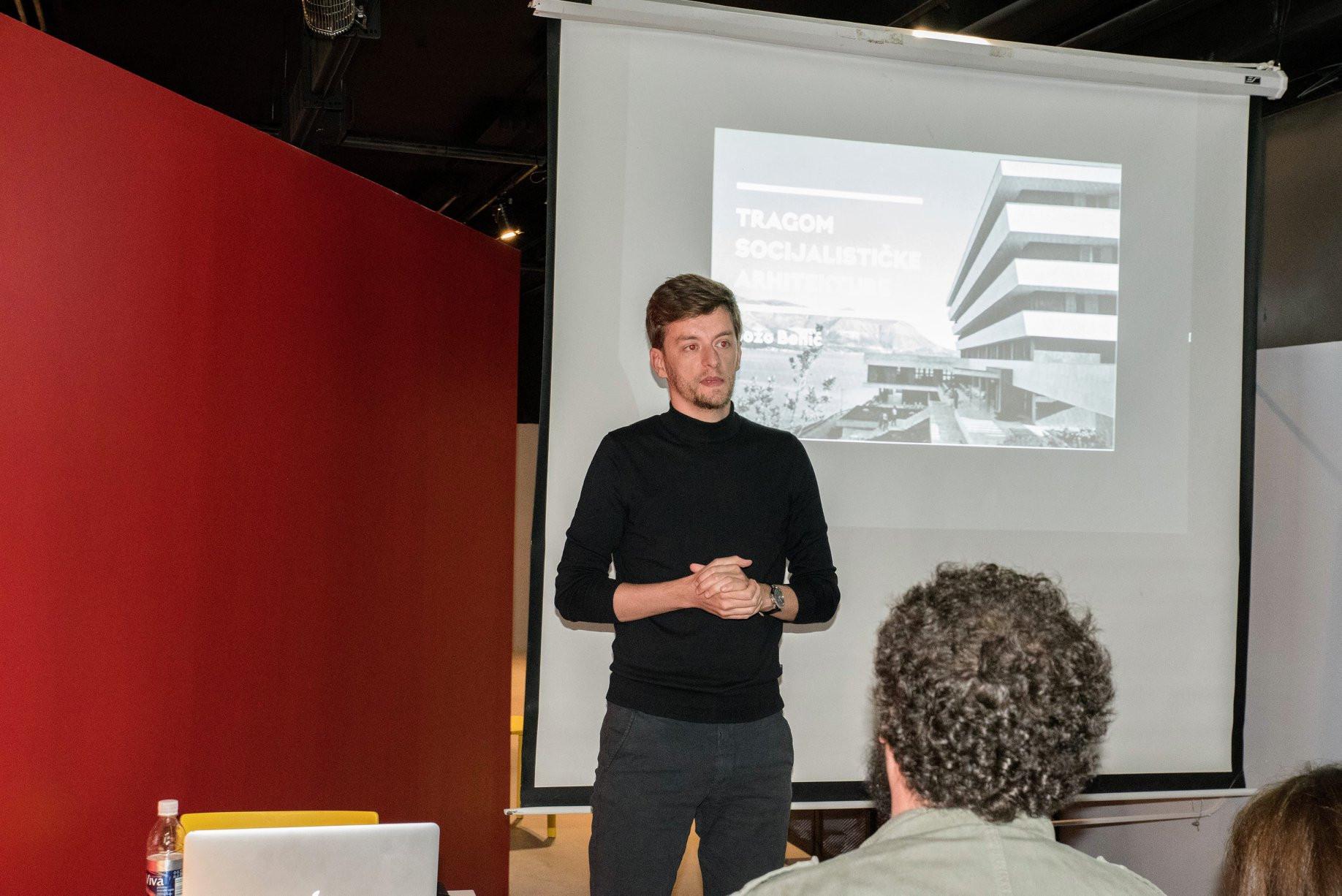 predavanje muzej crvene povijesti - arhitekt Božo Benić