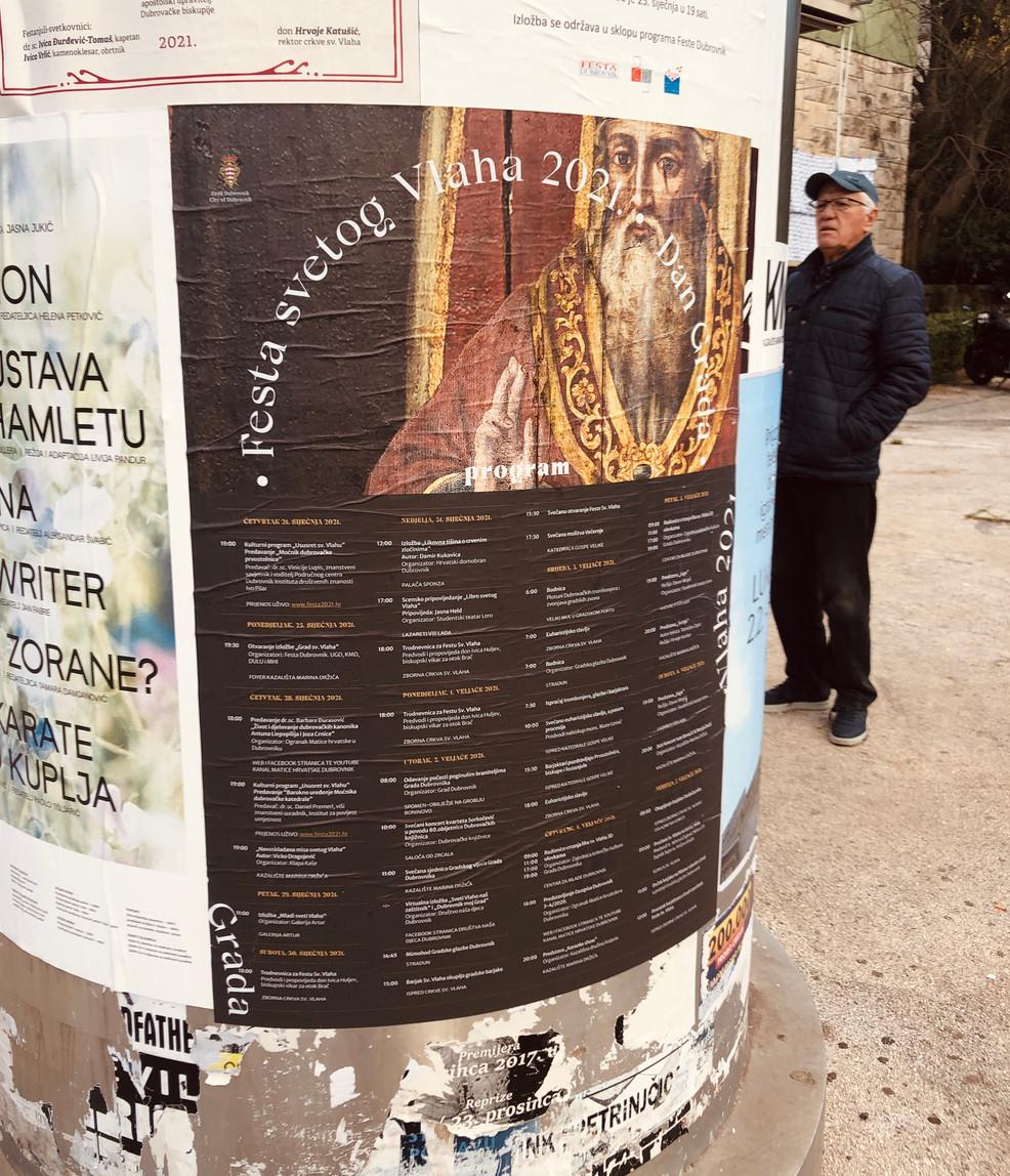Sveti Vlaho 2021 plakat