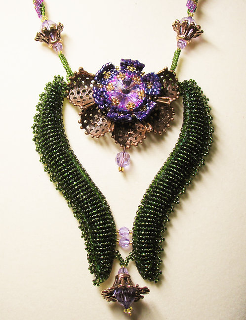 Sunday, February 28th: Blooming Lotus Necklace