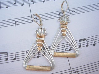 Sunday, March 31st: Modern Geometric Earrings