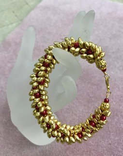 Wednesday, December 18th: Kumihimo Wreath Bracelet