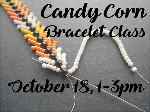 Wednesday, October 18th: Candy Corn Bracelet