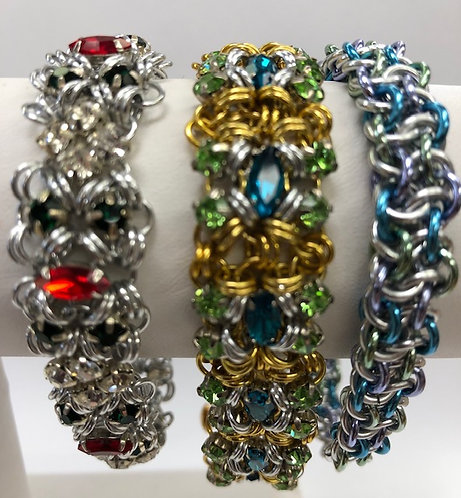 Wednesday, January 2nd, 16th, 23rd and 30th: Chainmaille with Erica