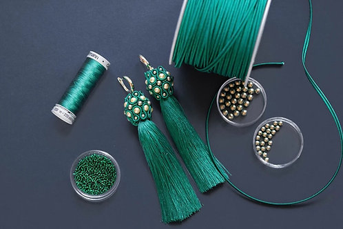 December, 6th and 13th: Evening Elegance Earrings Webinar