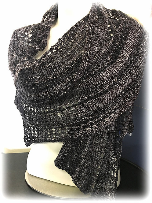 Saturday, January 20th: Knitted Shawl