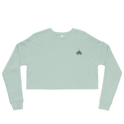 Misshattan Women's Cropped Sweatshirt