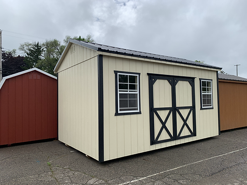 10' x 16' Side Utility Barn -Call for pricing
