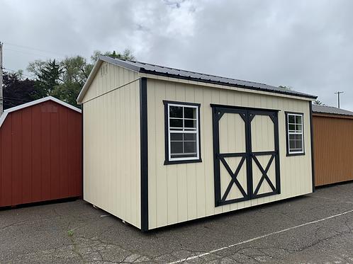 10' x 16' Side Utility Barn