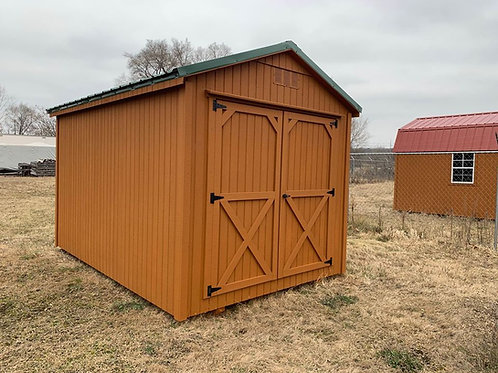 8' x 12' Utility Barn - Call for pricing