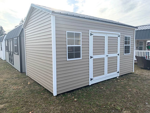 10' x 16' Side Utility Barn - Call for Pricing