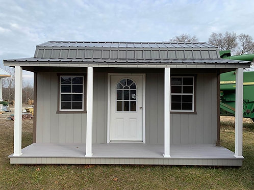 8' x 16' Side Lofted Barn Cabin - Call for pricing