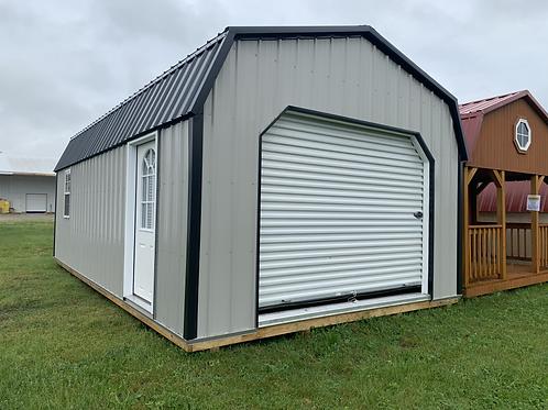 14' x 24' Lofted Barn Garage