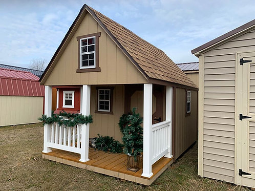8' x 12' Painted Playhouse