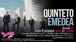 Quinteto Emedea - Baiser salé (19.11