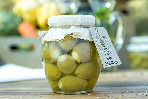 Feta Filled Olives