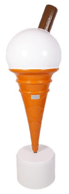 Giant Scooped Ice Cream Cone