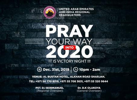 Pray Your Way Into 2020!