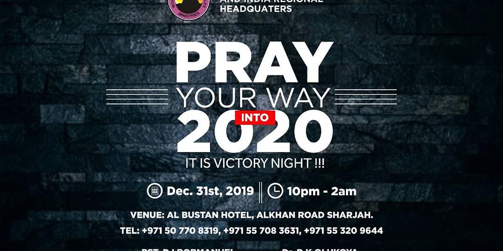 PRAY YOUR WAY INTO 2020