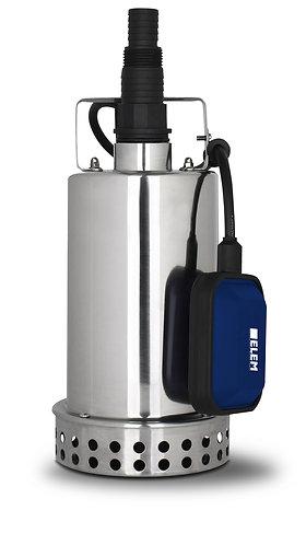 Elettropompa sommergibile in acciaio inox 400w acque pulite
