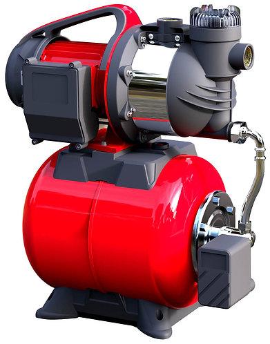 Pompa con autoclave 1100W con serbatoio, portata massima 4560 litri/ora