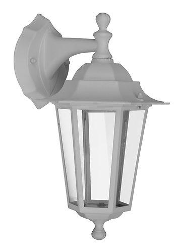 Applique a lanterna da esterno, montaggio a parete sul lato superiore