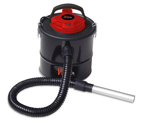 Bidone aspiracenere 600W, capacità 10 litri