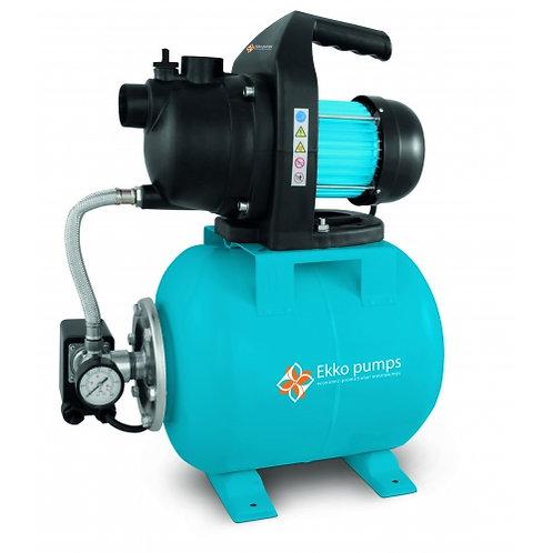 Pompa con autoclave 600W e serbatoio da 19 litri, portata massima 3600 litri/ora
