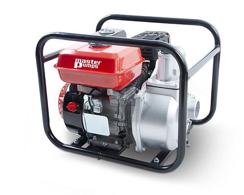 Pompa con motore a scoppio 7HP per acque chiare, portata massima 33000 litri/ora