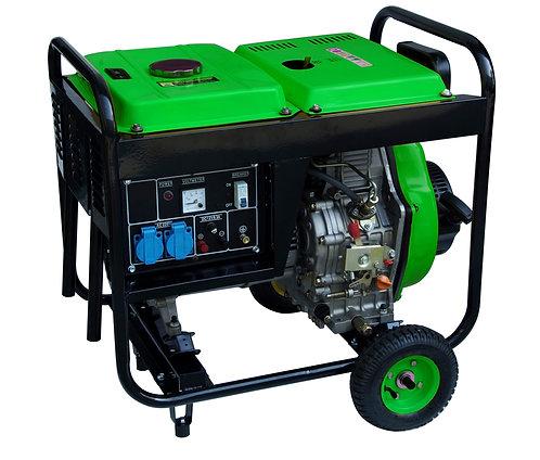 Gruppo elettrogeno (generatore) 5000W diesel con avviamento elettrico
