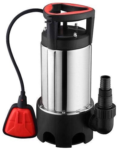 Pompa ad immersione in acciaio INOX 750W con galleggiante, portata 12900L/h