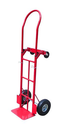 Carrello da trasporto con quattro ruote in gomma, portata max 350 kg