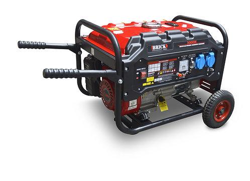 Gruppo elettrogeno 3000W con AVR, dotato di ruote e maniglie per il trasporto