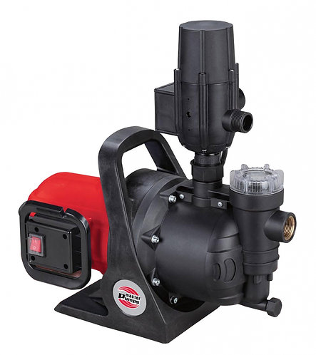 Pompa di superfice per irrigazione 800W con filtro  e controllo elettronico