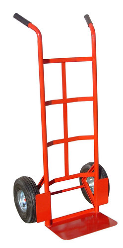 Carrello da trasporto con ruote in gomma gonfiabili, portata max 200 kg