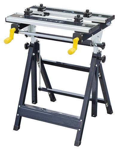 Piano di lavoro professionale pieghevole e regolabile, portata max 100 kg